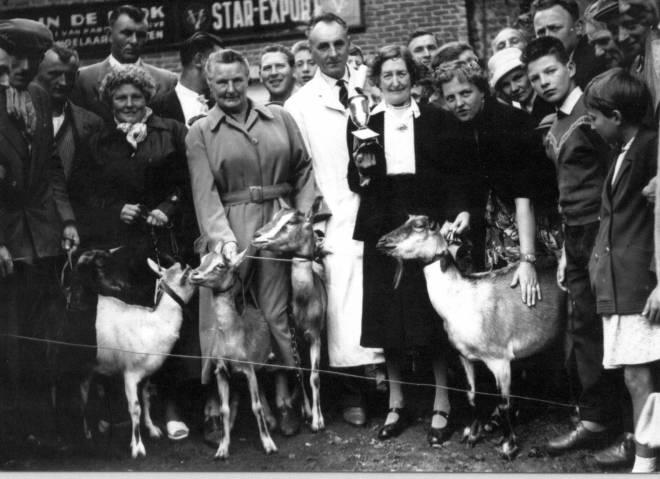 geitenkeuring la belle Helene 1958