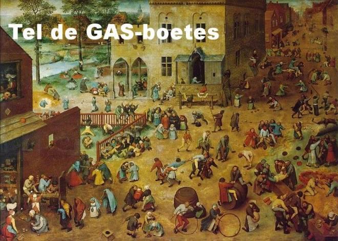 Tel-de-GAS-boetes