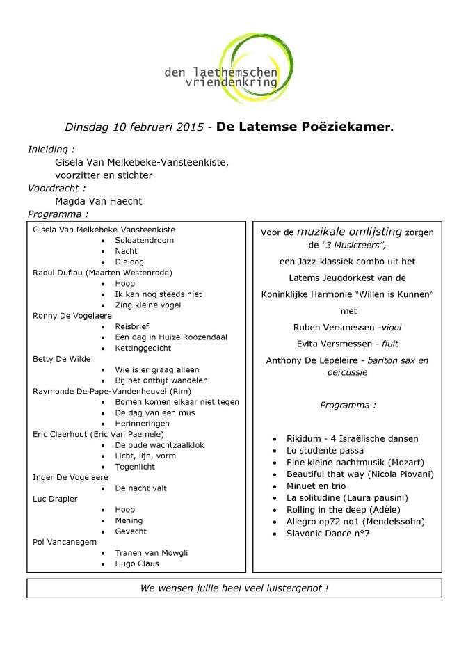 2015 LVK Poeziekamer Programma-1