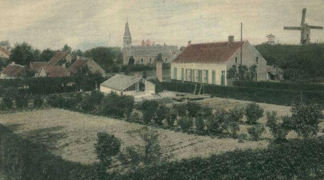 panorama met Molenberg