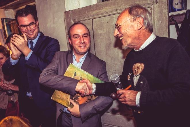 Opening expo met Wim Lammertijn conservator MUDEL